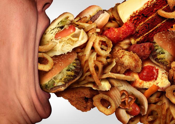 bulimia e disordine alimentare causato da stress e aumento del peso